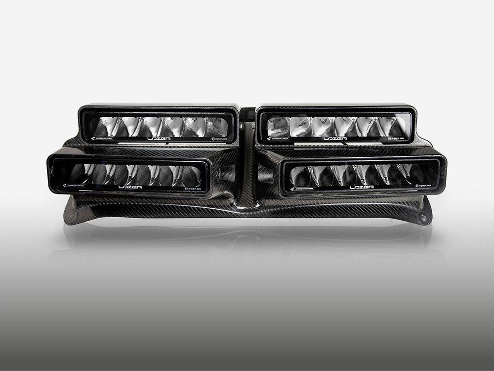 Fiesta R5 4-Way Rally Lamp Pod