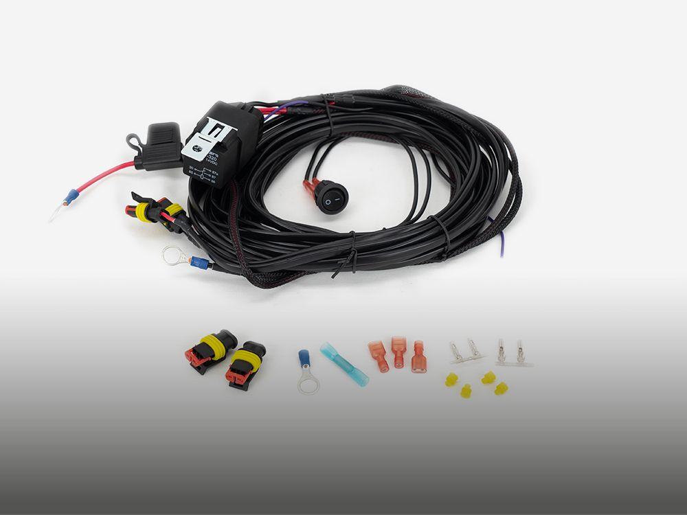 'Long' Two-Lamp Wiring Kit (Low Power, 12V)