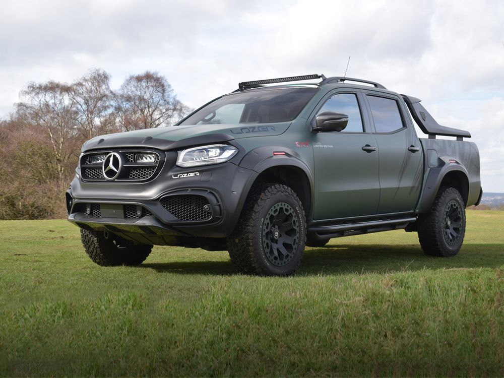 Mercedes X-Class Roof Mount Kit (with Roof Rails)