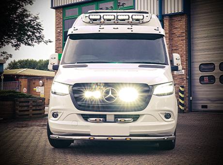 Lazer Lamps - Mercedes