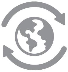 Global delivery symbol